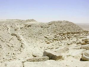 Khirbat al-Mudayna al-'Aliya, Jordan.  An early Iron Age site on the Eastern Karak Plateau.