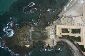 Herod's Promontory Palace, Caesarea