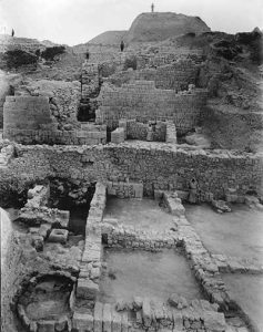 Excavations at Samaria in the 1930s