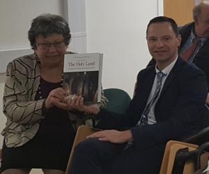 AIAS Chair, Professor Tessa Rajak with Dr David Gurevich